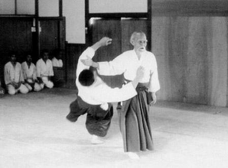 Основатель айкидо Морихеи Уэсиба