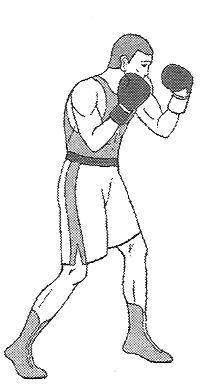правильная стойка боксера