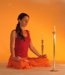 упражнения для глаз йога тратака