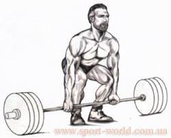 как правильно выполнять становую тягу