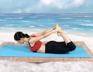 джанурасана йога