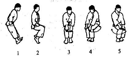 Разминка коленного сустава и голеностопа