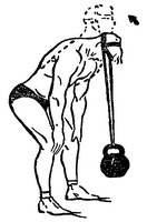 тренировка мышц шеи с гирями