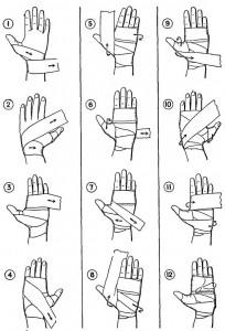 как правильно бинтовать руки в боксе
